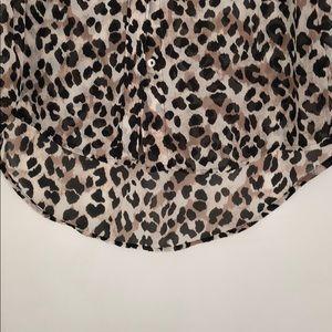 H&M Tops - Cheetah blouse